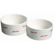 Russin & Mandelskål i keramik från Dorre