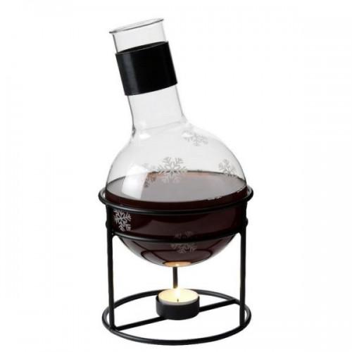 Trendig glöggkolv i glas från Dorre