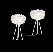 Fjäderlampor 2 st mini på tripod, Eos från Vita