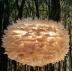 Dunlampa pendel Ljusbrun (koppar), Eos från Vita