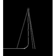 Lampstativ, Tripod svart från Vita