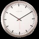 Väggklocka Stripe 26 cm, Modern klocka från NeXtime