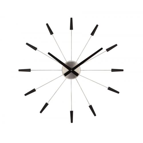 Väggklocka Plug Inn Svart, klocka från NeXtime