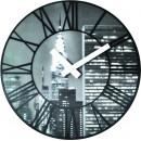 Väggklocka The City, 3D klocka från NeXtime