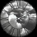 Väggklocka Clouds, 3D klocka från NeXtime