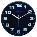 Väggklocka Dash Blue, klocka från NeXtime