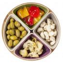Serveringsset litet, Taste 4 st skålar i stengods från Sagaform
