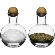 Serveringsset Oval Oak med ekkork 2 st från Sagaform, för kryddor & salt
