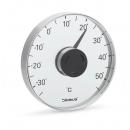 Fönstertermometer Grado från Blomus, borstat rostfritt stål