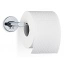 Toalettpappershållare enkel Areo från Blomus, vägghängd i rostfritt stål