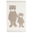 Høie Bamsebjörn barnpläd, ljusbrun 100% ull