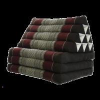 Triangelkudde,Thaikudde Röd/brun