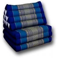 Triangelkudde, Thaikudde, blå