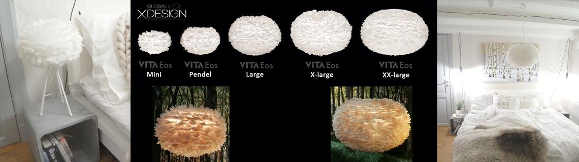 Fjäderlampor Eos från Vita